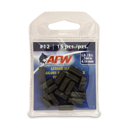 American Fishing Wire Single Barrel Leader Sleeves #J12B-A