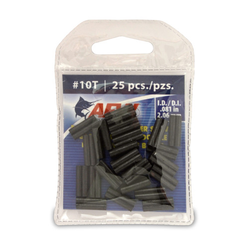 American Fishing Wire Thin Wall Double Barrel Leader Sleeves #J10TB-A