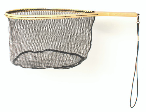 Eagle Claw® Wood & Rubber Trout Net #NTRTR