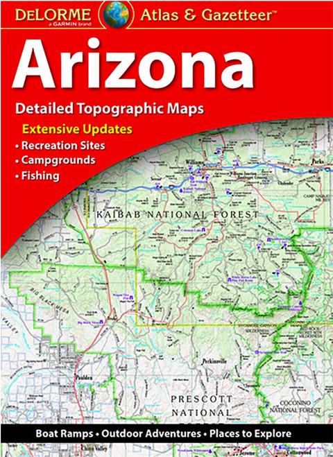 DeLorme Atlas & Gazetteers ARIZONA #AA-05-000