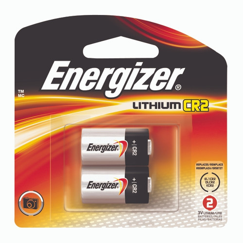 Energizer® Photo Lithium CR2 Battery #EL1CR2BP2