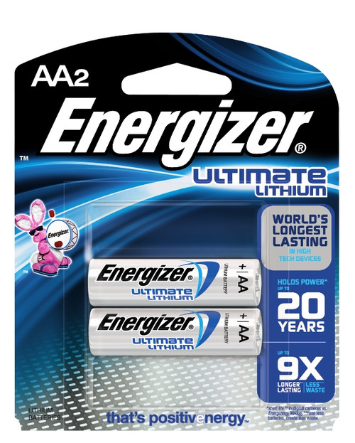 Energizer® Ultimate Lithium Batteries #L91BP-2
