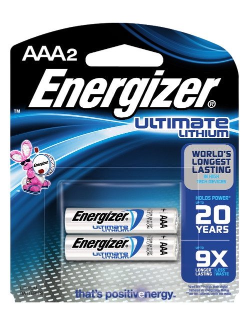 Energizer® Ultimate Lithium Batteries #L92BP-2