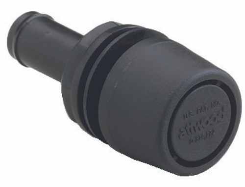 Attwood® Polypropylene Straight Thru-Hull Fuel Vent #1607-3