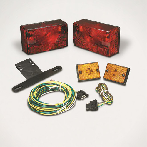 """Wesbar Submersible 4X6 Over 80"""" Tail Light Kit #407515"""