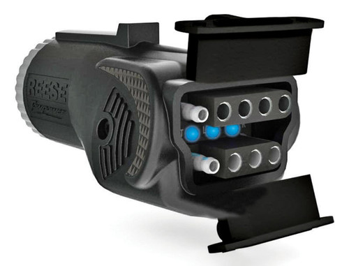 REESE® Towpower 7-Way Blade Plug to Plug Adapter #78118
