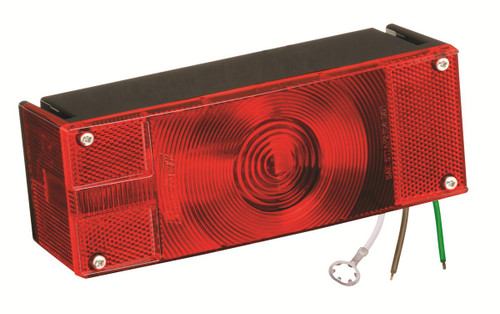 "Wesbar Waterproof Over 80"" 3X8 Low Profile Tail Lights"