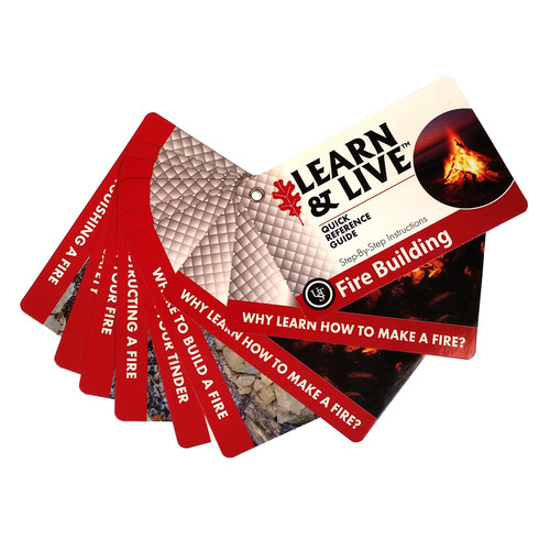 UST® LEARN & LIVE™ Fire Cards #20-80-1035