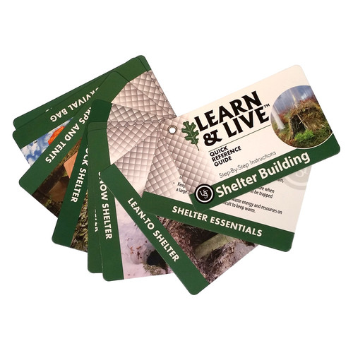 UST® LEARN & LIVE™ Shelter Cards #20-80-1045