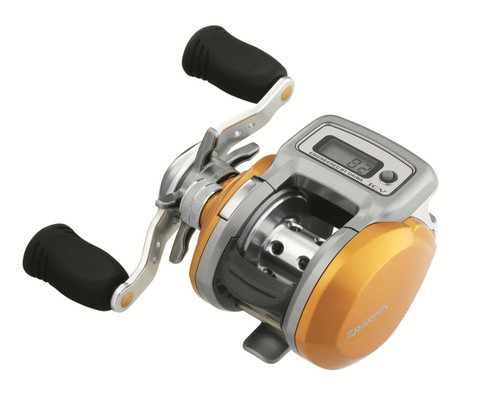 Daiwa® AccuDepth® 15 ICV Low Profile Digital Line Counter Reel #ADICV15L
