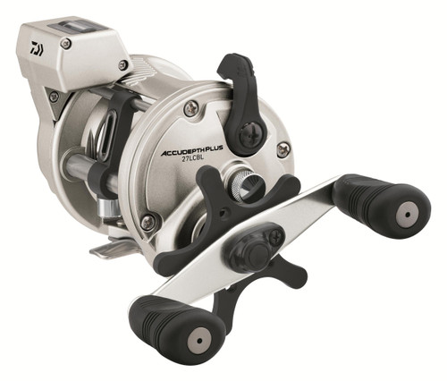 Daiwa AccuDepth Plus-B 27 Walleye Special Double Paddle Line Counter Reels ADP27LCBLW #ADP27LCBLW