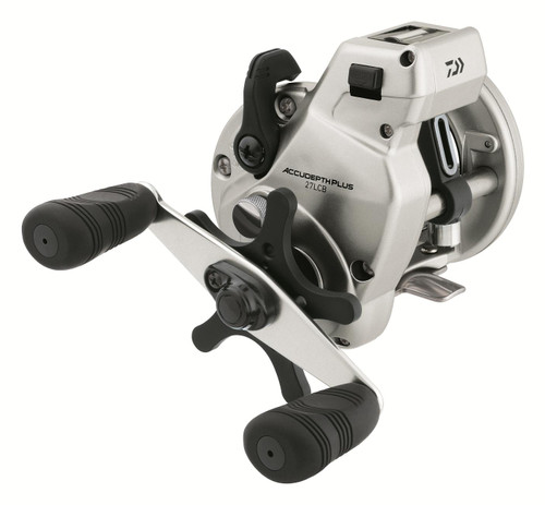 Daiwa AccuDepth Plus-B 27 Walleye Special Double Paddle Line Counter Reels ADP27LCBW #ADP27LCBW