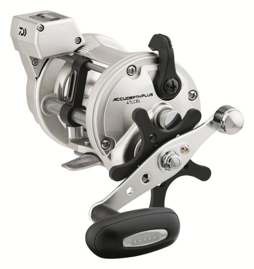 Daiwa AccuDepth Plus-B 47 Line Counter Reels ADP47LCBL #ADP47LCBL