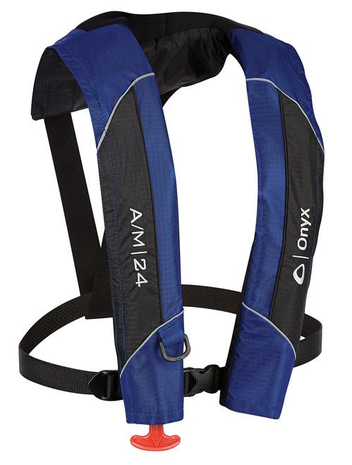 Onyx A/M-24 - Automatic & Manual Inflatable Life Jacket (PFD) 132000-500-004-15 #132000-500-004-15