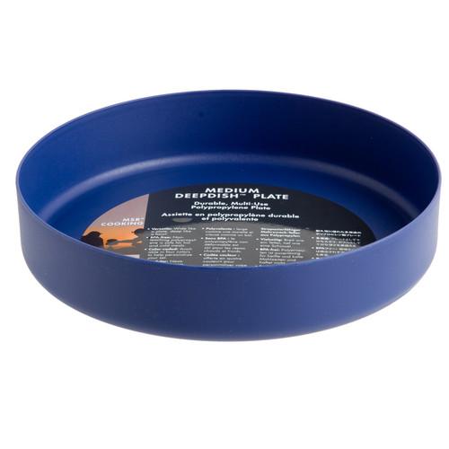 MSR DeepDishWare Camping Plates MED BLUE #06003