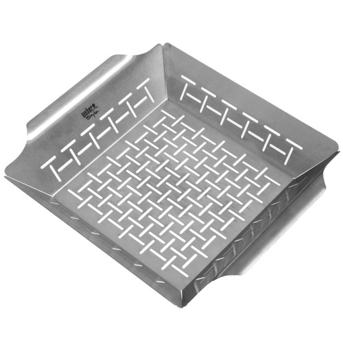 Weber® Style™ Small Stainless Steel Vegetable Basket #6481