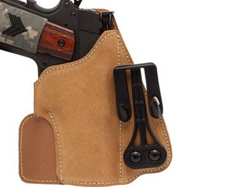 BLACKHAWK!® Tuckable Suede Leather Holsters