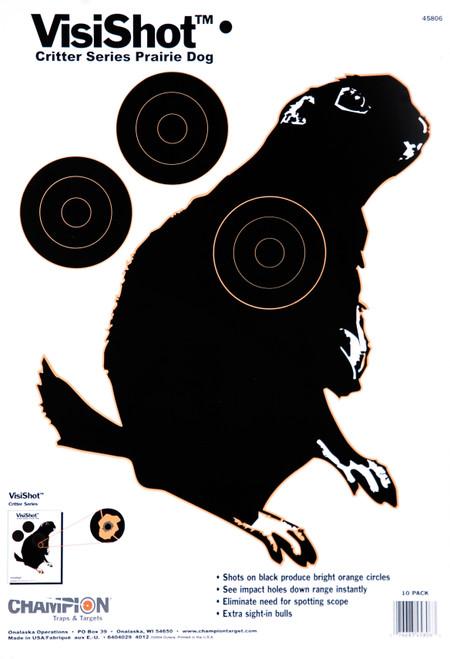 CHAMPION Interactive VisiShot Paper Critter Series Targets