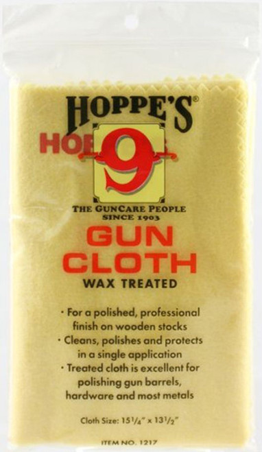 Hoppe's Wax Treated Gun Cloth #1217