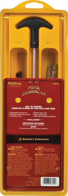 Outers Pistol Aluminum Rod Cleaning Kit 96416 #96416