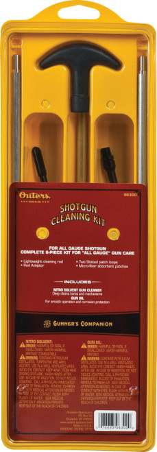 Outers Shotgun Aluminum Rod Cleaning Kit 96300 #96300