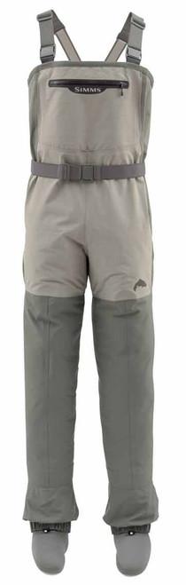 Simms Women's Freestone Stockingfoot Fishing Waders Striker Gray Medium #12571-023-3008