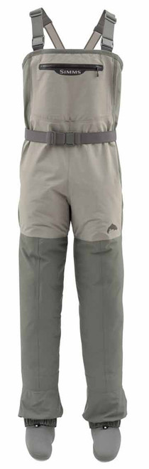 Simms Women's Freestone Stockingfoot Fishing Waders Striker Gray Large #12571-023-4009