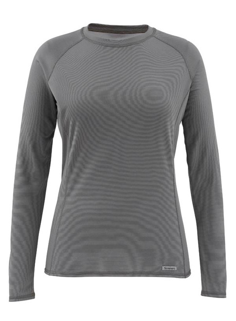 Simms Women's Waderwick Core Crewneck Long Sleeve Base Layer Shirt