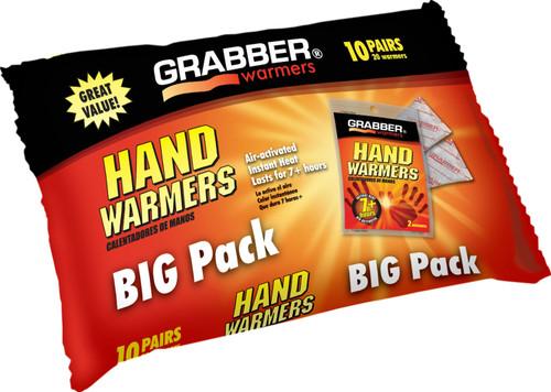 GRABBER Big Pack 10-Pack Hand Warmers #HWPP10