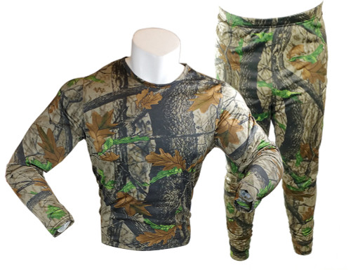 GOLD MEDAL Camo Performance 2-Piece Base Layer Thermal Set