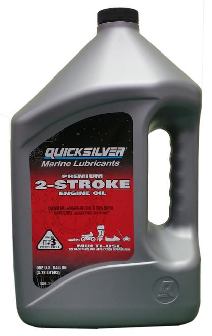 Quicksilver Premium 2-Stroke Engine Oil #92-858022Q-01