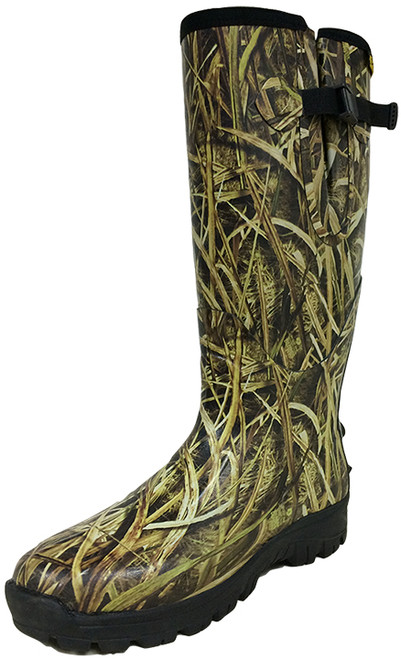 """Reed Briar Mossy Oak Camo Fieldmaster 17"""" Neoprene Boots"""