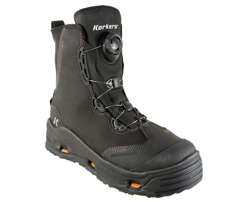 Korkers Devil's Canyon Wading Boots FB4110-9 Black #FB4110-9