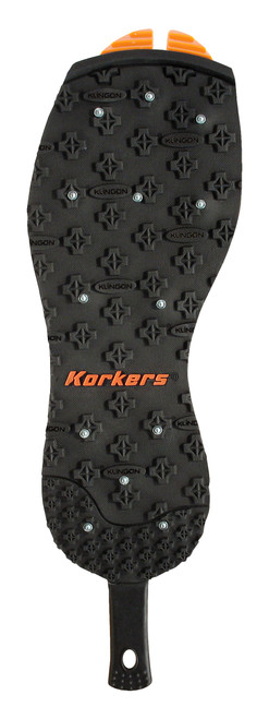 Korkers OmniTrax v3.0 Studded Kling-On Rubber Interchangeable Sole Replacement FA3020-12 Black #FA3020-12