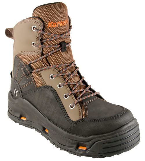 Korkers Buckskin Wading Boots FB4310-7 Brown & Black #FB4310-7