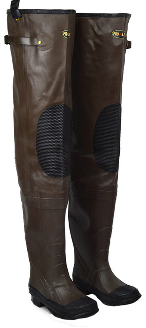 Pro Line Kid's Stream Cleated Rubber Hip Wader Boots