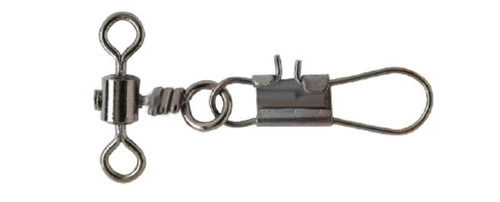 Pucci Rolling Drop Swivel & Interlock Snap Black Nickel 5 #PRDI5-25
