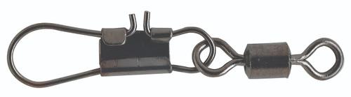 Pucci Rolling Swivels & Interlock Snaps Black 10 #PRSI10-25