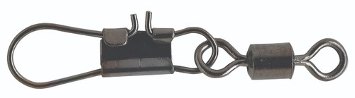 Pucci Rolling Swivels & Interlock Snaps Black 3 #PRSI3-100