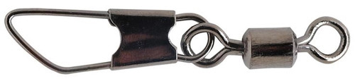 Pucci Rolling Swivels & Safety Snaps Black 10 #PRSS10-100