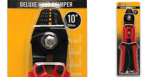 "PLine Deluxe High Carbon 10"" Hand Crimper #DHC-10"