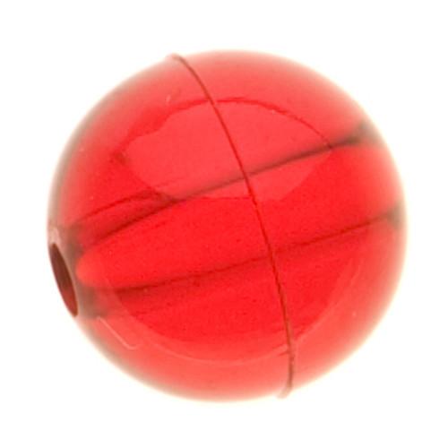 Yakima Bait Round Beads Ruby 4mm #5494-RUBY