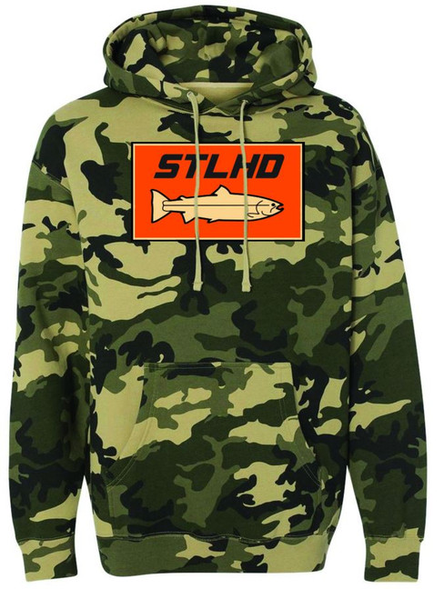 STLHD Camo Hooded Sweatshirts