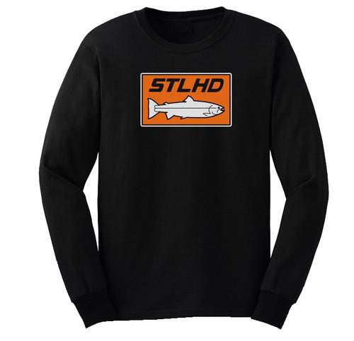 STLHD Long Sleeve Black T-Shirts