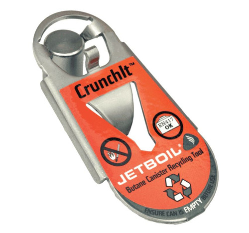 Jetboil CrunchIt Butane Canister Recycling Tool #CRNCH