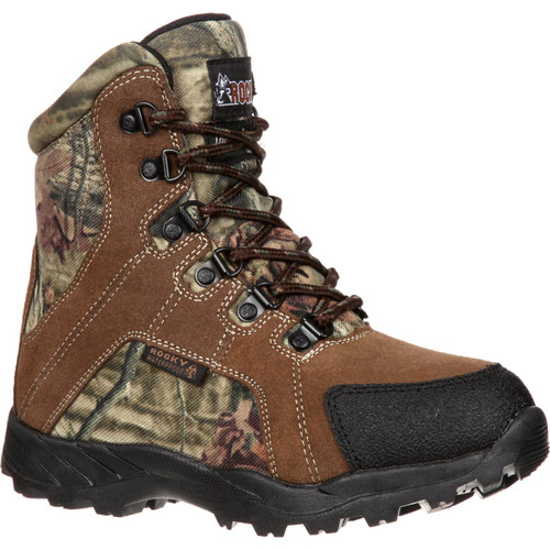 Rocky Kid's Insulated Waterproof Camo Hunting Boots