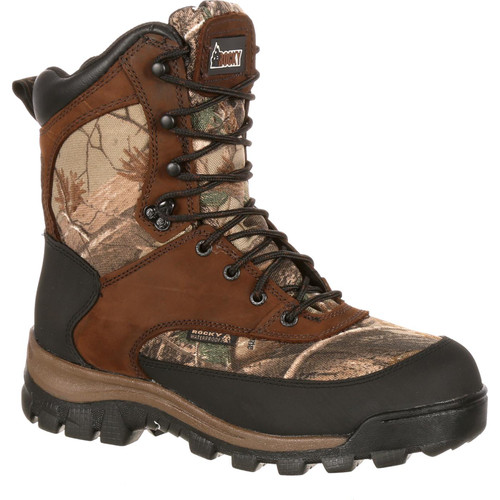 Rocky Core Insulated Waterproof Camo Hunting Boots