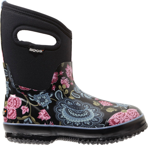 BOGS Women's Classic Winter Blooms Mid Insulated Boots