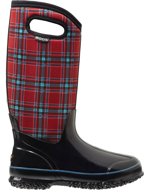 BOGS Women's Classic Winter Plaid Insulated Tall Boots