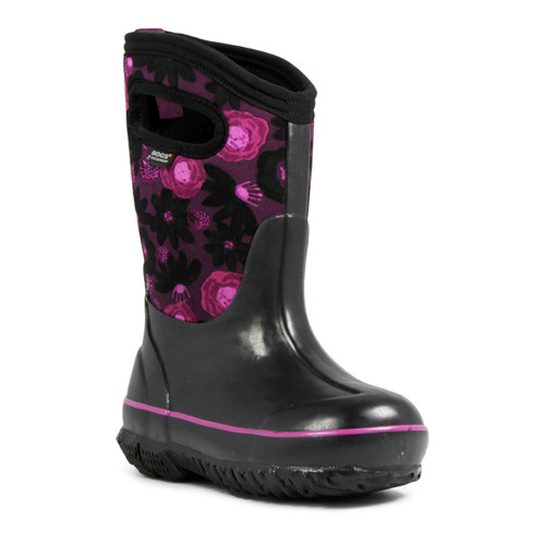 BOGS Kid's Classic Watercolor Insulated Boots